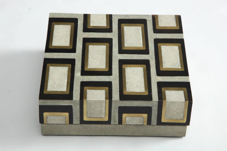 Shagreen Box Offered by Area ID For Sale 1