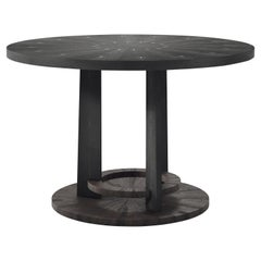 Shagreen Breakfast Table with Palmwood Details by R&Y Augousti