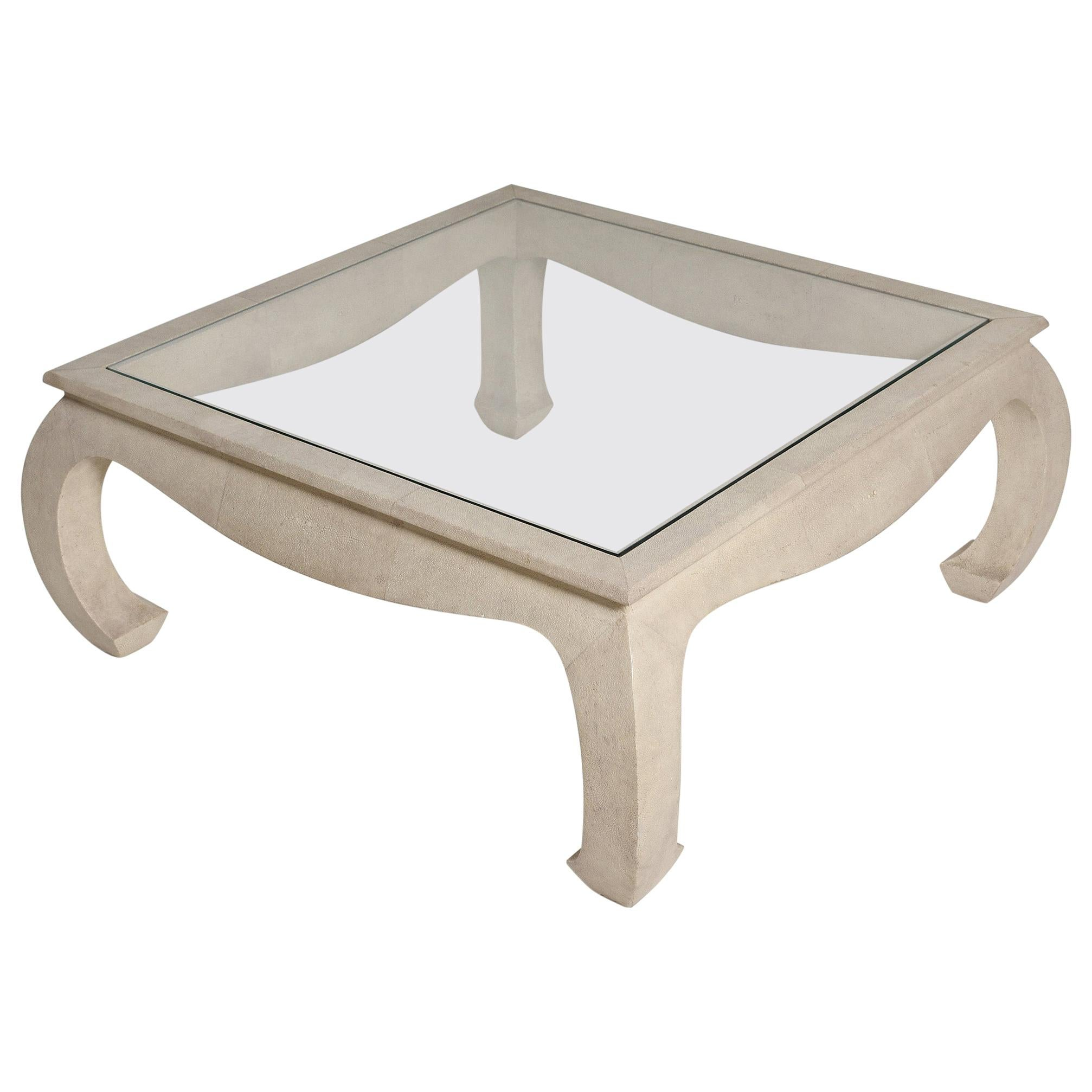 Shagreen Coffee Table by Maitland Smith