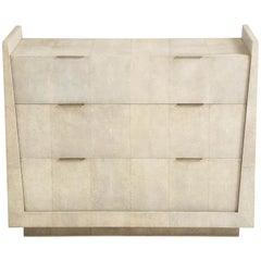 Shagreen Dresser with Bronze Details