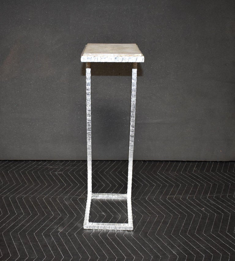 American Shagreen Drink Table For Sale