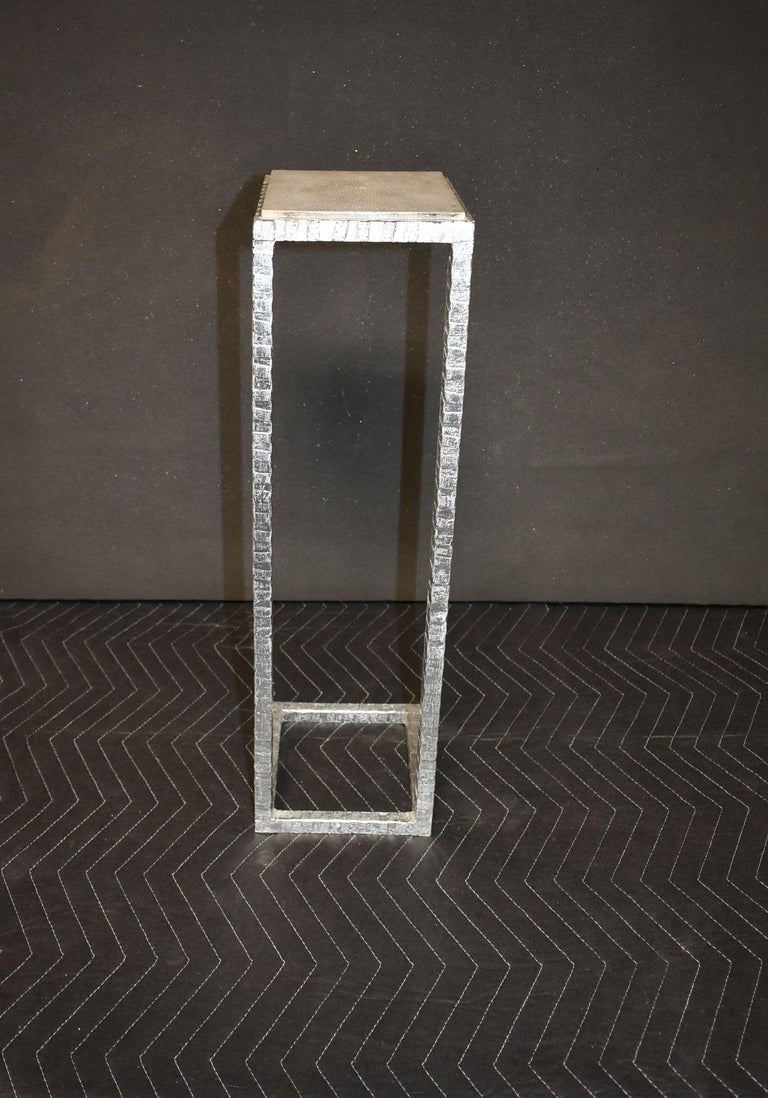 Contemporary Shagreen Drink Table For Sale