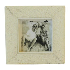 Shagreen Esque Picture Frame by R & Y Ausgosti