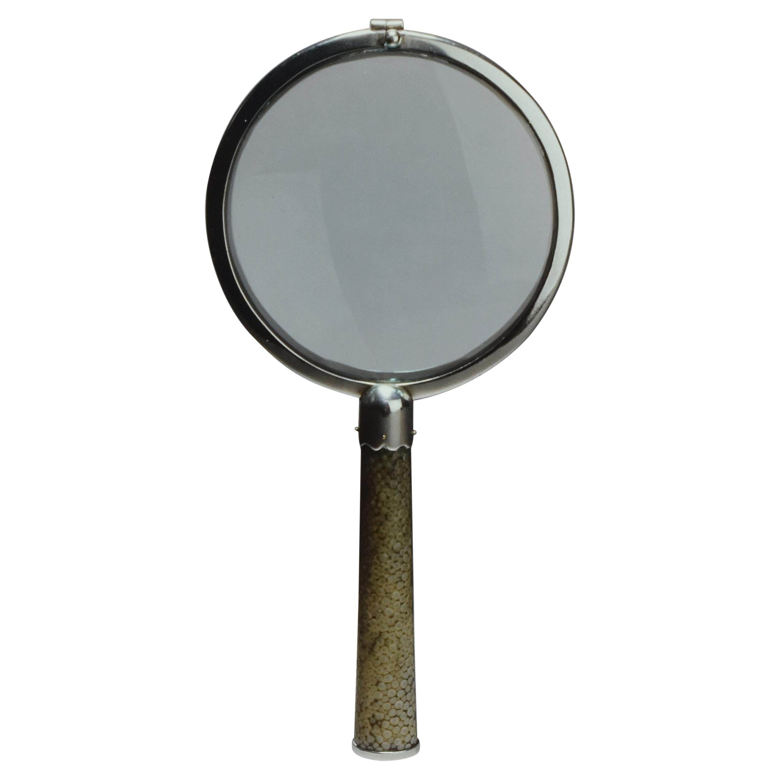 Shagreen Magnifying Glass