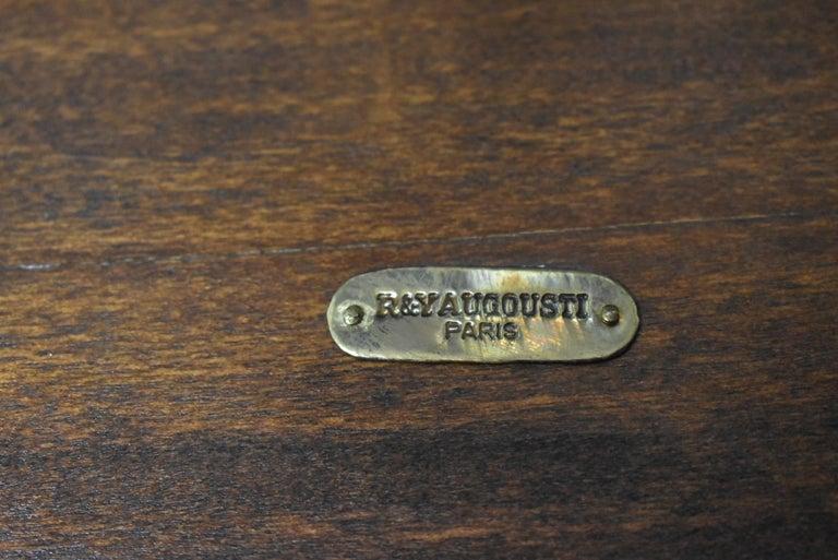 20th Century Shagreen Nesting Tables R&Y Augusti Paris For Sale