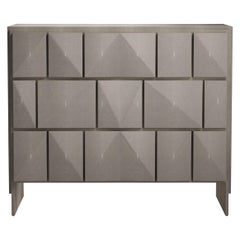 Shagreen Rhomboid Chest of Drawers by R&Y Augousti