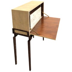 Shagreen Secretary Desk Signed R&Y Augousti