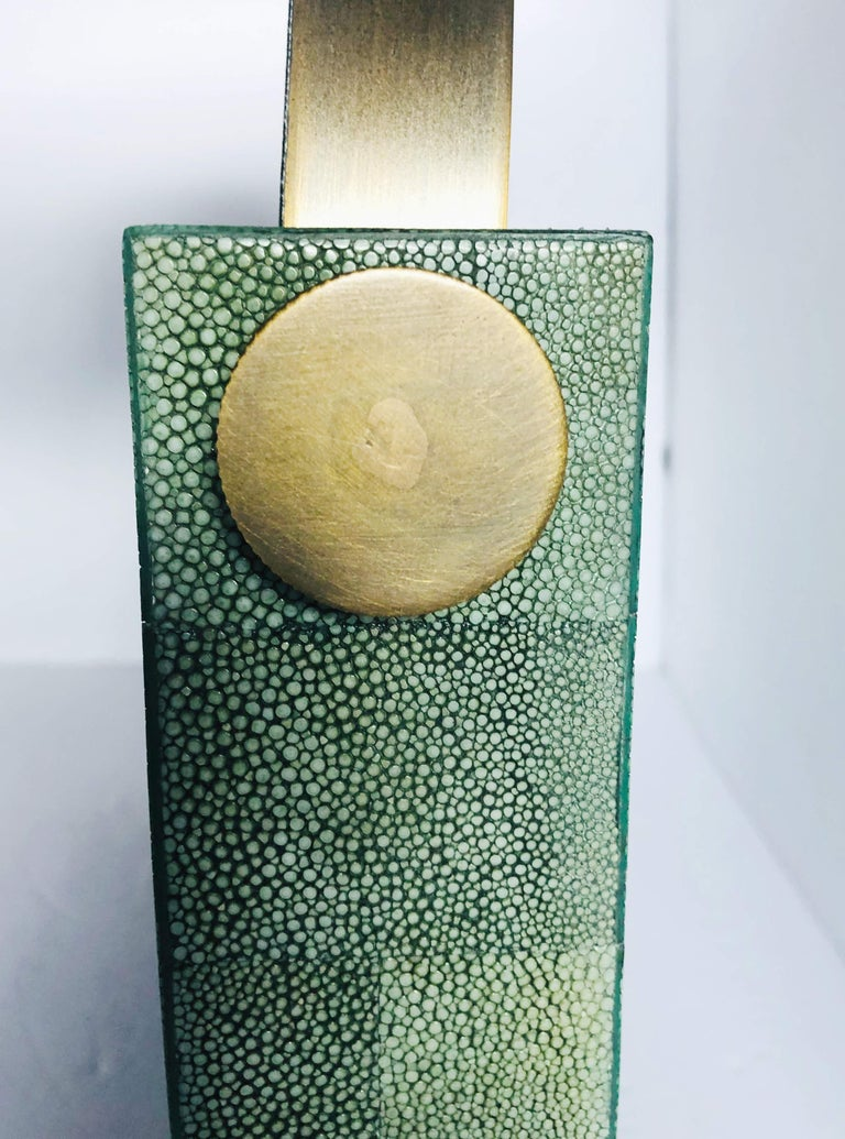 Shagreen Vanity Mirror by Fabio Ltd FINAL CLEARANCE SALE 1