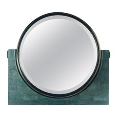 Shagreen Vanity Mirror by Fabio Ltd FINAL CLEARANCE SALE