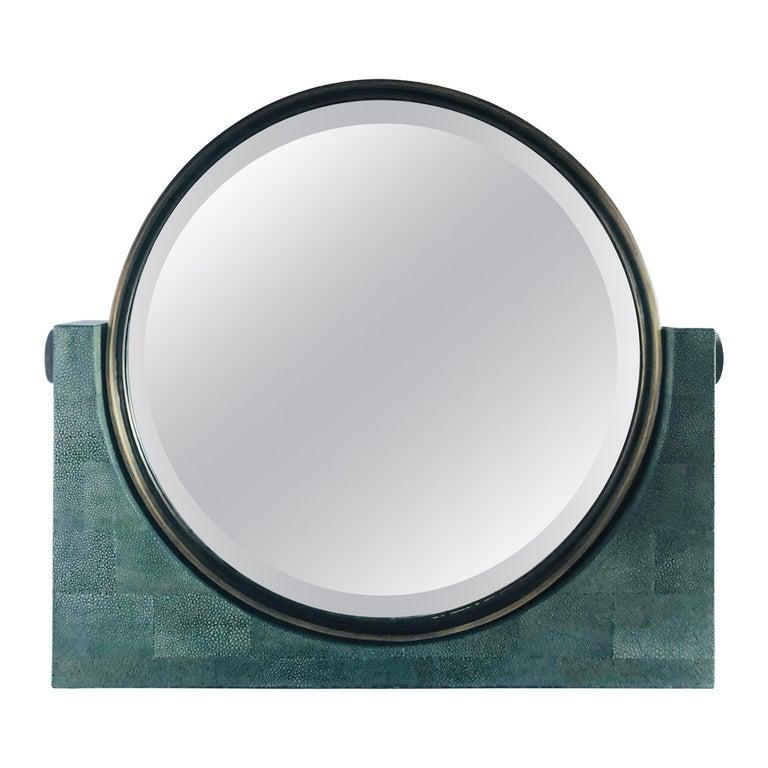 Shagreen Vanity Mirror by Fabio Ltd FINAL CLEARANCE SALE