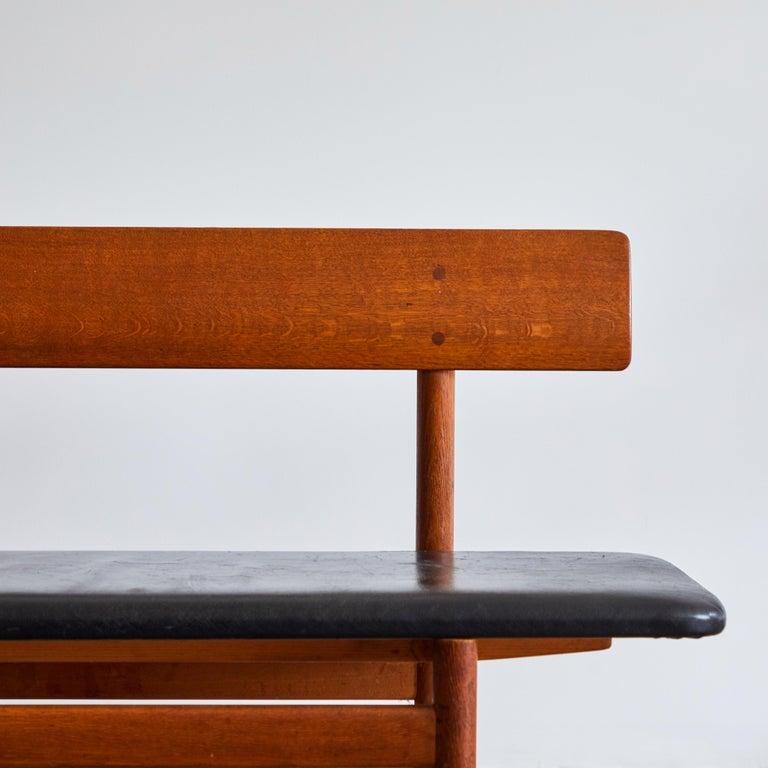 Shaker Bench by Børge Mogensen for Fredericia Stolefabrik For Sale 5