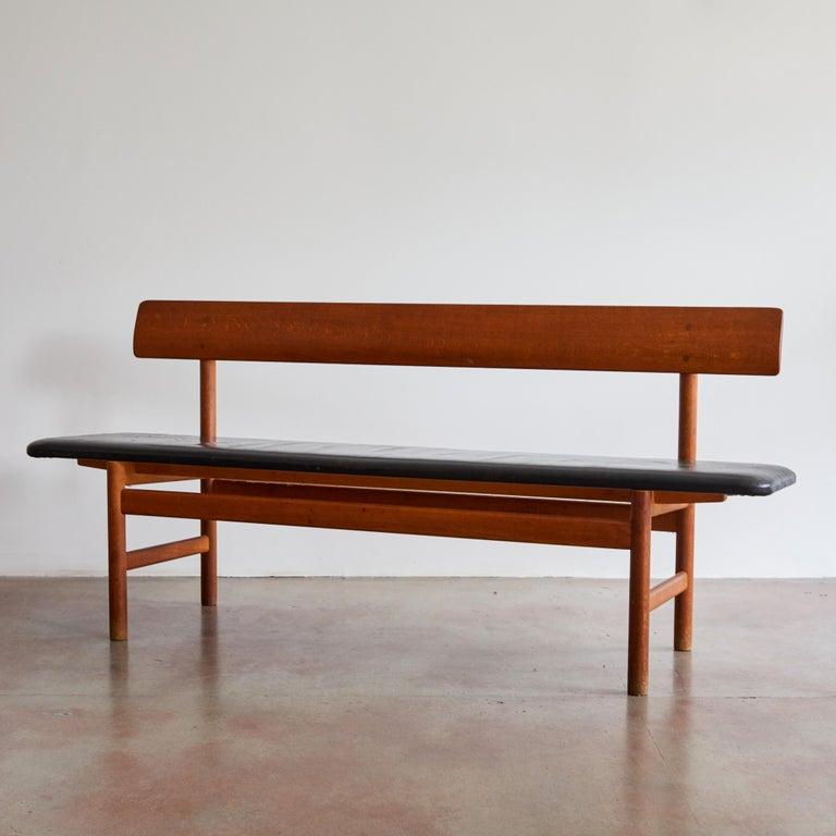 Danish Shaker Bench by Børge Mogensen for Fredericia Stolefabrik For Sale