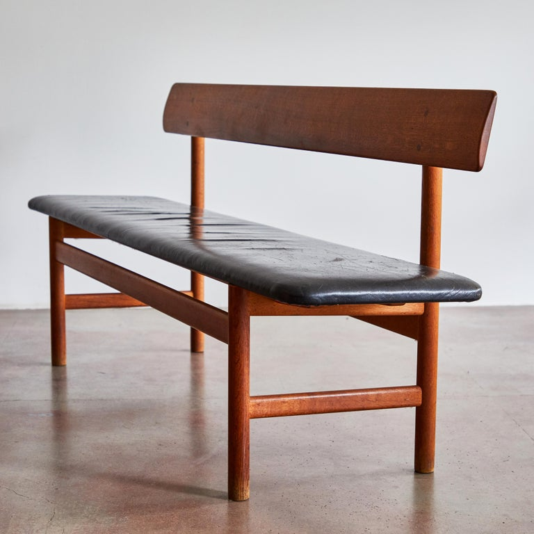 Late 20th Century Shaker Bench by Børge Mogensen for Fredericia Stolefabrik For Sale