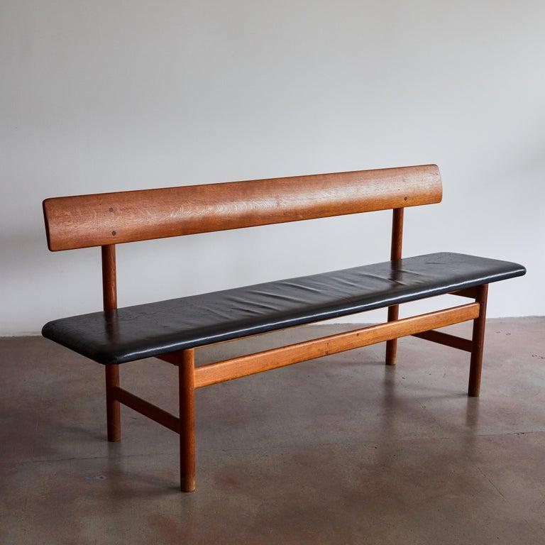 Shaker Bench by Børge Mogensen for Fredericia Stolefabrik For Sale 2