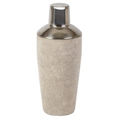 Shaker in Ivory Shagreen by Kifu Paris