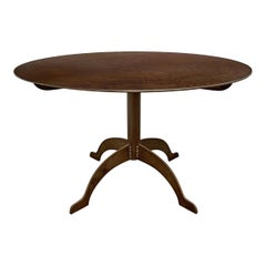 Shaker-Inspired Steel Round Dining Table