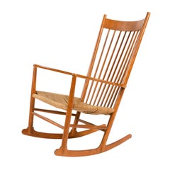 1970s Danish Shaker Rocking Chair by Hans J. Wegner
