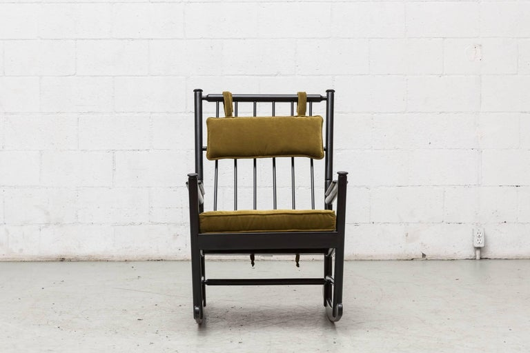 Shaker Style Black Rocking Chair At 1stdibs
