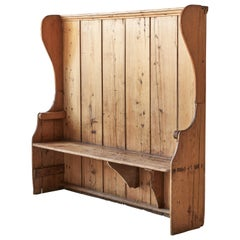 Shaker Style high Back Bench