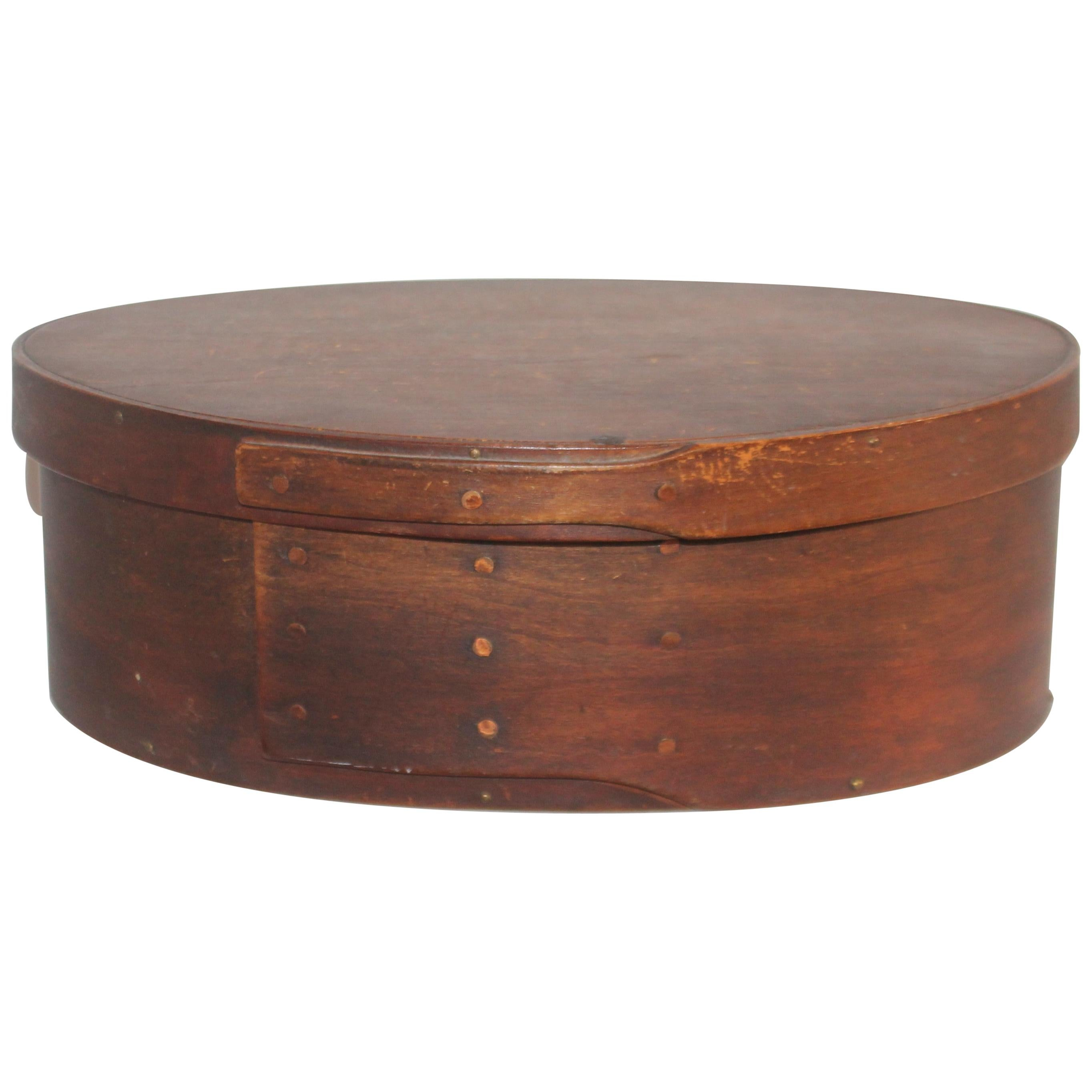 Shaker Style Oval Pantry Box