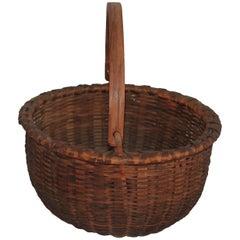 Shaker Style Swing Handle Basket
