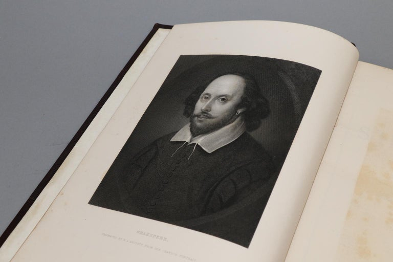 19th Century Shakespeare's The Works, Edited by Charles Knight For Sale