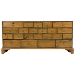Shallow English Apothecary Chest