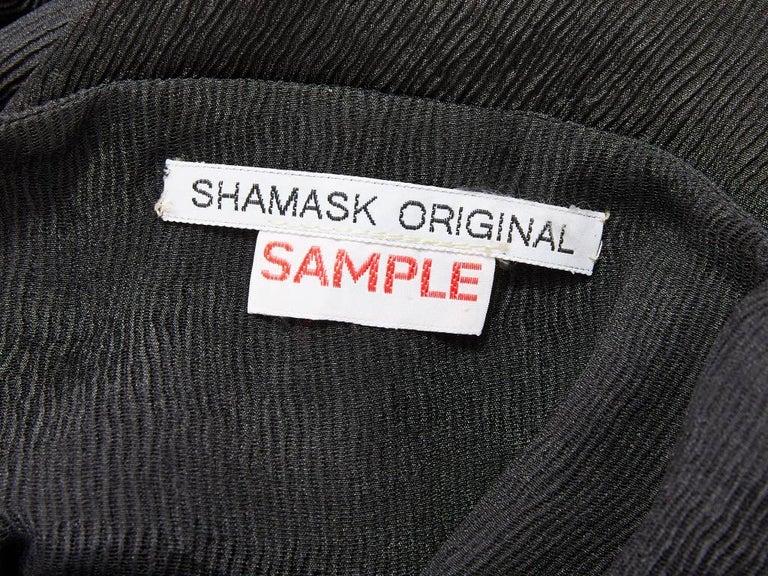 Shamask Silk Plissé Sheath For Sale 2