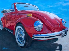 """Volkswagen B33TL3,"" Acrylic painting"