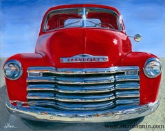 """""""1951 Chevrolet Truck,"""" Limited Edition Giclée Print (8/25)"""