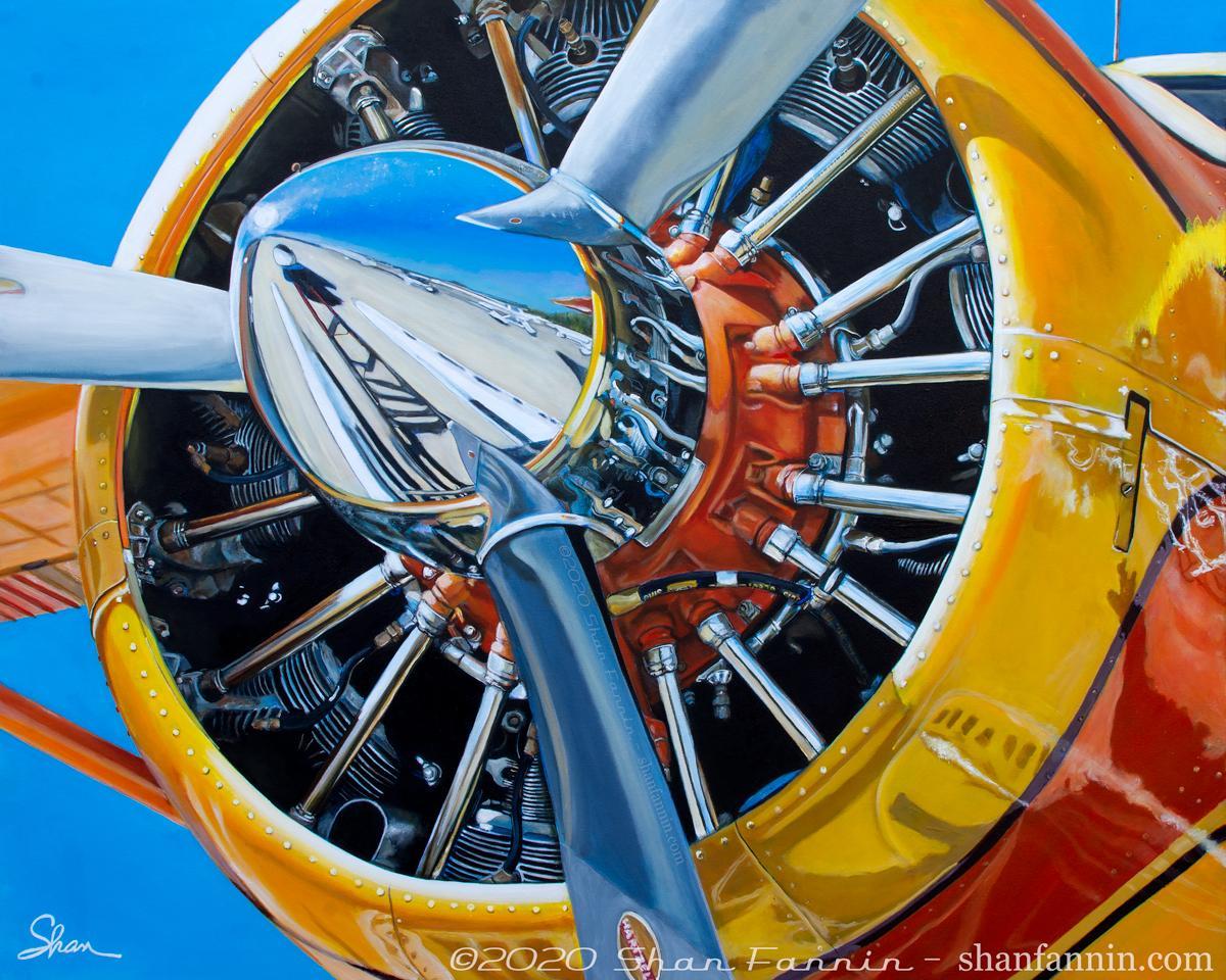 """1958 De Havilland Canada DHC-2 Beaver,"" Limited Edition Giclée Print (25/13)"