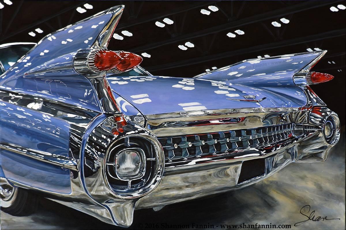 """""""1959 Cadillac El Dorado"""" Limited Edition Giclée Print (25/8)"""