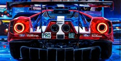 """""""2016 Ford GT #68"""" Limited Edition Giclée Print (25/13)"""