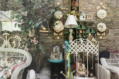 Sharon's Sunroom 1/5 - A photograph of carefully curated collected items