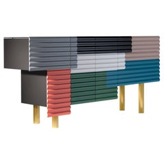 """Shanty Contemporary Cabinet Model B """"Summer"""" by Doshi Levien for BD Barcelona"""