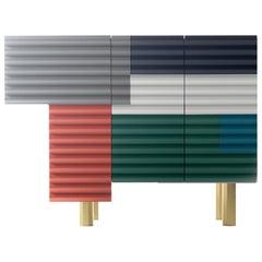 "Doshi Levien, Contemporary, Shanty Single Cabinet Model B ""Summer"""