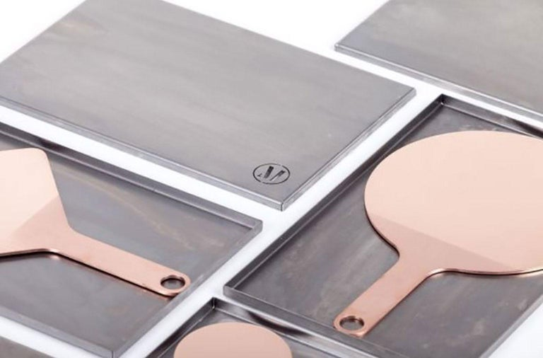 Polished Shape Mirrors by Studio Objects of Common Interest for Mingardo For Sale