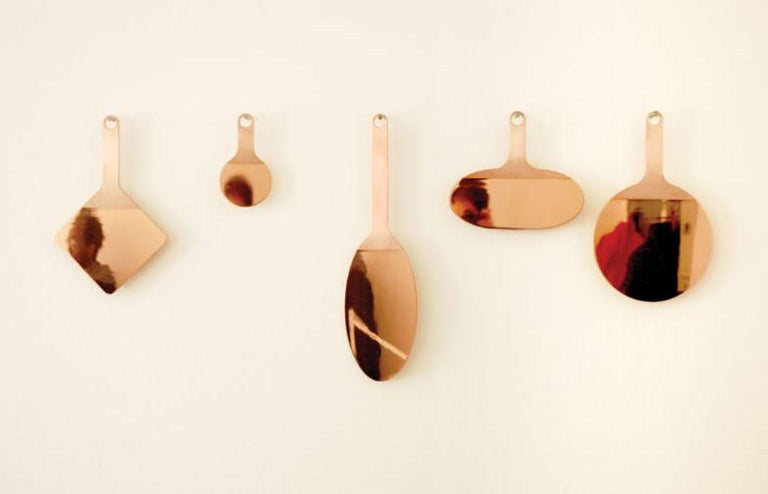 Contemporary Shape Mirrors by Studio Objects of Common Interest for Mingardo For Sale