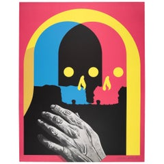 Shapeshifter, Limited Edition Lithograph by Michael Reeder