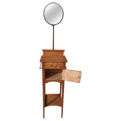 Shapland & Petter, Attributed, Arts & Crafts Gentleman's Wash or Shaving Stand