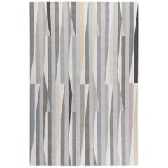 Shard Hand-Knotted Area Rug in Wool by The Rug Company