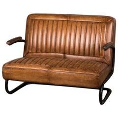 Shard Vintage Style Leather Seating Range, 20th Century