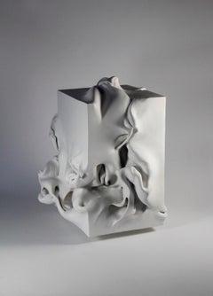 Rectangle I - Abstract Mixed Media Sculpture