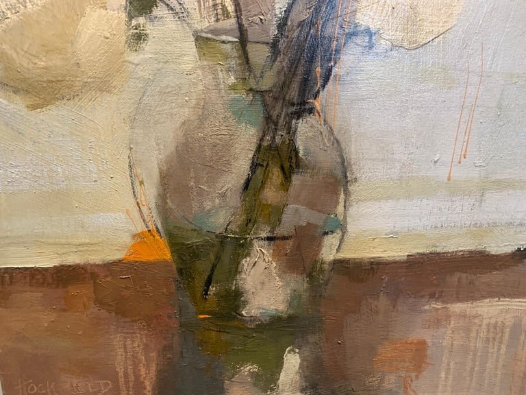 Dillworth Hydrangeas by Sharon Hockfield, Contemporary Floral Still Life For Sale 3
