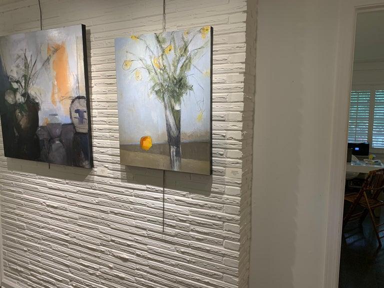 Passalong Susans by Sharon Hockfield, Contemporary Floral Still Life 1