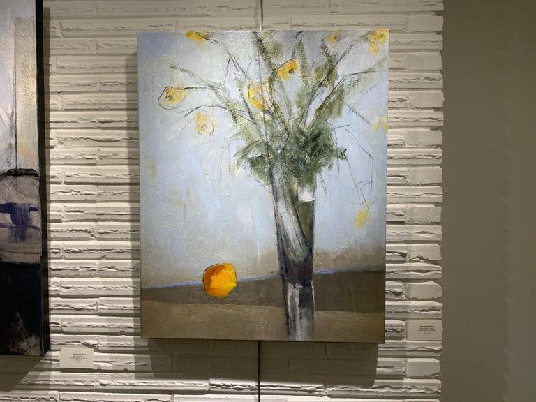 Passalong Susans by Sharon Hockfield, Contemporary Floral Still Life 2