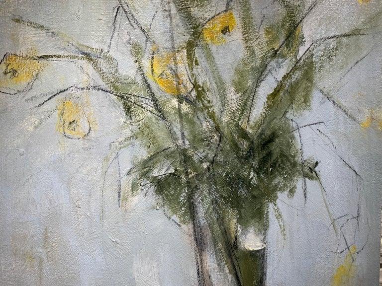 Passalong Susans by Sharon Hockfield, Contemporary Floral Still Life 5