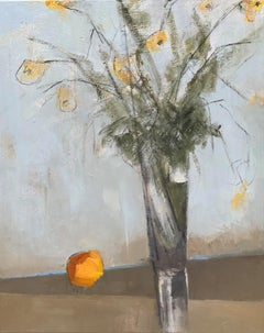 Passalong Susans by Sharon Hockfield, Contemporary Floral Still Life