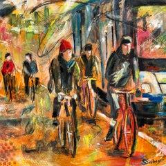 Bicycle Path II, Original Painting