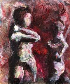 Confrontation, Original Painting
